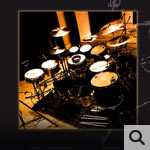 Goldsoundmusic real acoustic drumgrooves