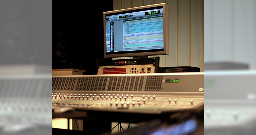 Goldsoundmusic, Tonstudio, Regieraum, Avid Icon D-Command ES, Pro Tools